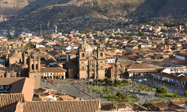 Plaza de Armas, Cusco, Peru Royalty Free Stock Photography