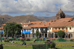 Plaza de Armas in Cusco, Peru Stock Photography