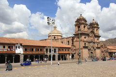 Plaza de Armas in Cusco, Peru Stock Images