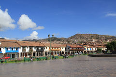 Plaza de Armas in Cusco, Peru Royalty Free Stock Photo