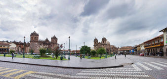 Plaza De Armas in Cusco, Peru Royalty Free Stock Photos