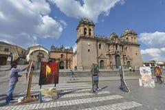 Plaza de Armas, Cuzco, Περού Στοκ Φωτογραφίες