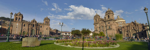 Plaza de Armas, Cuzco, Περού Στοκ εικόνες με δικαίωμα ελεύθερης χρήσης