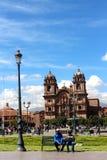 Plaza de Armas, Cuzco Στοκ Εικόνα