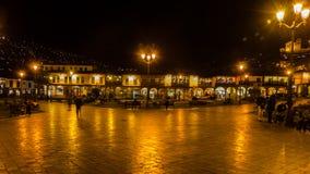 Plaza de armas - cuzco - il Perù Immagini Stock