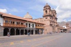 Plaza de Armas, Cuzco, Peru Arkivbild