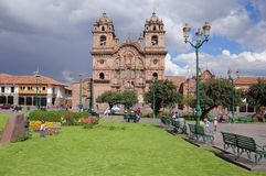 Plaza de Armas, Cuzco, Peru Arkivfoto