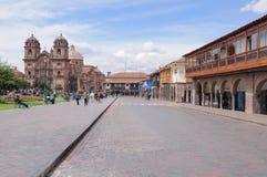 Plaza de Armas, Cuzco, Peru. Stock Image