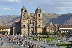 Plaza de Armas, Cuzco, Peru Royalty Free Stock Images