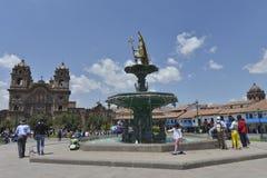 Plaza de Armas, Cuzco, Peru Stock Images