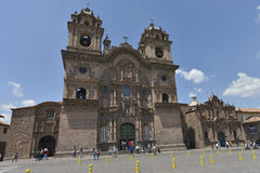 Plaza de Armas, Cuzco, Peru Royalty Free Stock Photography