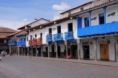 Plaza de Armas, Cuzco, Peru. Royalty Free Stock Image