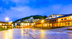 Plaza de Armas early in morning,Cusco, Peru Stock Images