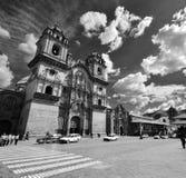 Plaza de Armas em Cusco, Peru imagem de stock