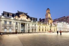 Plaza de Armas en Santiago de Chile Imagen de archivo libre de regalías