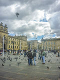 Plaza de Armas at Historic Center in Bogota Colombia Royalty Free Stock Image