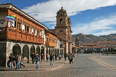 The plaza de armas Stock Photography