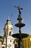 Plaza de Armas, Lima, Peru Royaltyfria Foton