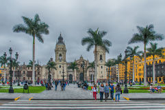 The Plaza de Armas Royalty Free Stock Images