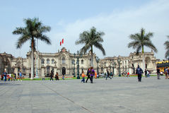 Plaza de Armas Stock Images
