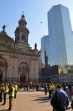 Plaza de Armas Main πλατεία, Σαντιάγο de Χιλή Στοκ εικόνες με δικαίωμα ελεύθερης χρήσης