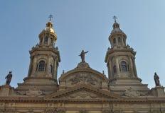 Plaza de Armas Main πλατεία, Σαντιάγο de Χιλή Στοκ Φωτογραφία
