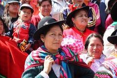 Plaza de Armas na cidade de Cusco em Peru Fotografia de Stock Royalty Free