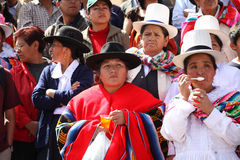 Plaza de Armas na cidade de Cusco em Peru Fotos de Stock