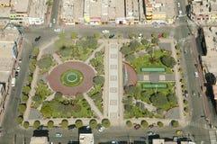 Plaza de Armas - Nasca - Peru. Plaza de Armas in Nasca - Peru Royalty Free Stock Images
