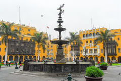 Free Plaza De Armas (Plaza Mayor) Of Lima, Peru Royalty Free Stock Photos - 49388898