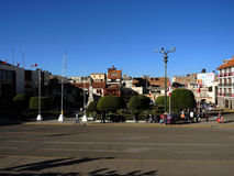 Plaza de Armas, Puno, Περού Στοκ Φωτογραφίες