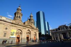 Plaza de Armas santiago chile photo stock