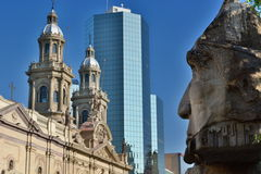 Plaza de Armas santiago chile Fotos de archivo