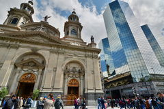 Plaza de Armas. Santiago. Chile Royalty Free Stock Image
