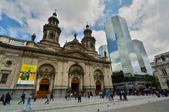 Plaza de Armas. Santiago. Chile Royalty Free Stock Photos