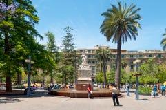 Plaza de Armas, Santiago - Chile Royalty Free Stock Photo