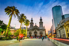 Plaza de Armas, Santiago de Chile, Chile Royalty Free Stock Images