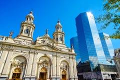Plaza de Armas, Santiago de Chile, Chile. Plaza de Armas, main square of Chile capital city, Santiago de Chile, Chile Royalty Free Stock Image