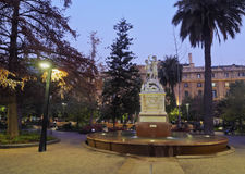 Plaza de Armas in Santiago de Chile Royalty Free Stock Photo