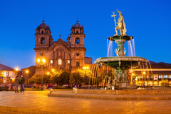 Plaza de Armas Royalty Free Stock Photos