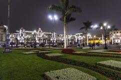 Plaza de Armes - Lima - Perú Imagenes de archivo