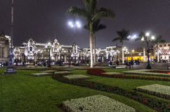 Plaza de Armes - Lima - Peru Stock Images