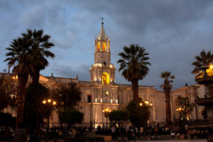 Plaza de Arms Royalty Free Stock Photo