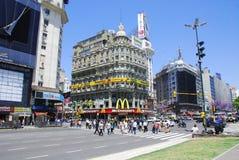 Plaza de Avenida 9 de Julio Stock Photography