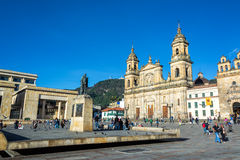 Plaza de Bolivar Royalty Free Stock Photo