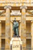 Plaza de Bolivar Statue Stock Photography