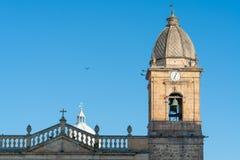 Plaza de bolivar de Tunja foto de archivo