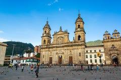 Plaza de Bolivar View fotografie stock