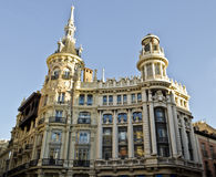 Plaza de Canelejas in Madrid - Spain. Building in Plaza de Canalejas in Madrid (Spain Royalty Free Stock Photos
