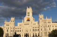 Plaza de Cibeles, Μαδρίτη Στοκ εικόνα με δικαίωμα ελεύθερης χρήσης